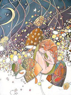 Colorful Fall от Holly Bean на Etsy