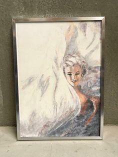 ≥ Marilyn Monroe schilderij incl zilverkleurige lijst - Marktplaats Marilyn Monroe, Painting, Art, Idea Paint, Art Background, Painting Art, Kunst, Paintings, Performing Arts