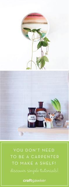 Learn to make your own custom shelves for less. You don't need to be a carpenter!