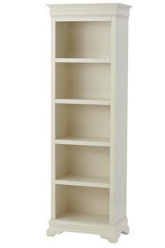 Louis Philippe 24 W Bookcase 5 Shelf Tall
