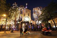 Iglesias en Navidad