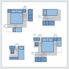 Bedroom Ergonomics. Planning a new bedroom gives you the chance to create a tranquil haven in a busy home. It's a place where you can relax, read, watch tv or listen to music and sleep comfortably.