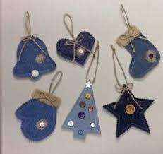 Картинки по запросу jeans ornaments crafts Christmas Sewing, Christmas Crafts For Kids, Homemade Christmas, Rustic Christmas, Christmas Art, Christmas Projects, Primitive Christmas, Holiday Crafts, Ornament Crafts