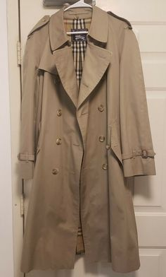 b392ff467480 AUTHENTIC Burberrys  Mens Tessuto Vintage Tan Trench Coat 40 R MSRP  1990   fashion  clothing  shoes  accessories  mensclothing  coatsjackets (ebay  link)