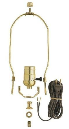 Spider Fitter Lamp Shade: LampsUSA 8 Heavy Duty Harp Fitter For ...