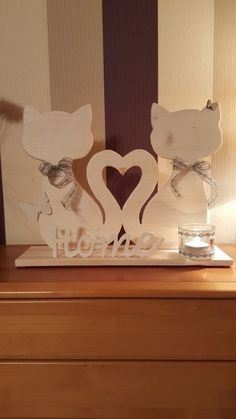 fun and easy scroll saw projects Dremel Projects, Wood Projects, Woodworking Projects, Projects To Try, Cat Crafts, Diy And Crafts, Paper Crafts, Wooden Art, Wooden Crafts
