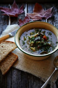 Tasty Tuesday - Warming Beef & Barley Soup   The Whimsical Wife