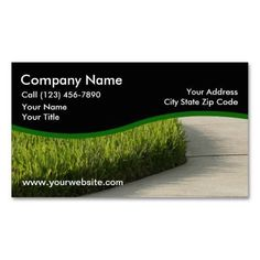Lawn Care Services Design Business Card | 1000 Lawn Care Business Cards, Examples Of Business Cards, Elegant Business Cards, Custom Business Cards, Business Ideas, Pergola Pictures, Lawn Service, Landscaping Software, Business Card Design