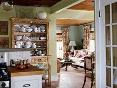 My Sweet Savannah: ~cozy kitchens~