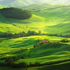 Valley of Tuscany