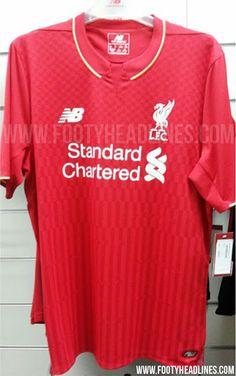 Liverpool home shirt for 2015 16 season  Leaked  PHOTO  8499e85896965