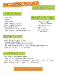 How to Say Thank You? 112 Phrases for Saying Thank You in Any Situation