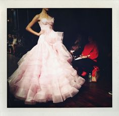 Get Jessica Biel's White Aisle Style: 9 Pretty Pink Wedding Gowns | OneWed