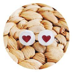 Free Shipping Earrings Sweet Earrings Heart by StudioHerniczek, $19.00