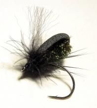 Russian Dmitri Tseliaritski's Narova foam dry fly is an easy and robust pattern template for terrestrials, beetles in particular