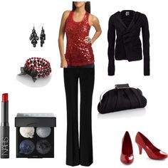 I created this holiday outfit. :)