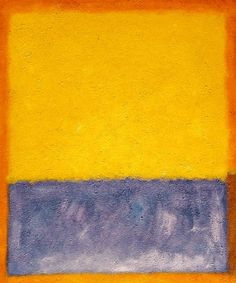 Artwork support: Oil paintings, Canvas Prints, Posters Search to buy: mark rothko paintings, yellow blue and orange paintings