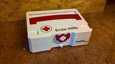 Erste Hilfe First Aid    Selber machen Systainer mit T-Loc-Verschluß Passend für verschiedene Hersteller  Also make Systainer with T-Loc closure Suitable for different manufacturers Verbandskasten