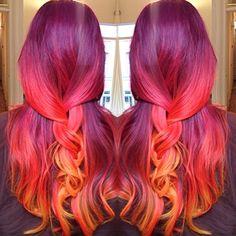 rote Frisuren und Haarschnitte Ideen