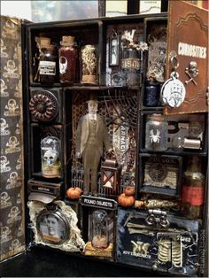 idea-ology show recap 2013…-how about this for the boys Halloween decor?