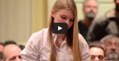 """This 15 Year Old Leaves Anti-Gun Politicians Speechless. """"Guns are not our problem, people are,"""" she says."""