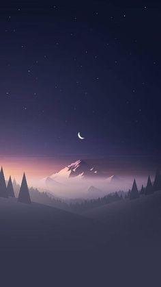 Night Mountain wallpaper by Jafar_Xf - 61e2 - Free on ZEDGE™