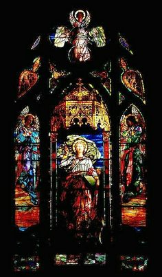 Stained Glass Window at St. John's Church by donsutherland1, via Flickr