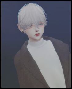 Messy Fringe Child Male Hair for The Sims 4 by yuu-tori-tori Sims 4 Hair Male, Sims Hair, Sims 4 Cc Skin, Sims Cc, Messy Fringe, Fringe Hair, Messy Bangs, Hair Bangs, Messy Hair