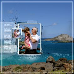 Scrapbooking Ideas for Photo Backgrounds and Foundations | Terry Billman | Get It Scrapped