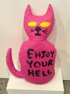 Enjoy Your Hell By David Shrigley