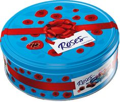 Food Ireland Roses Tin 850g (30oz) - Say thank you with delicious Roses. Assorted chocolates individually wrapped. Did you know? If you stretched each Roses chocolate sold in a year end to end, the line would stretch round the British coastline over three times. Roses outsell Frozen Turkeys by 50% during the Christmas period!