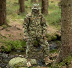 """TDU Uniform in """"Socom AOR2"""" camouflage."""