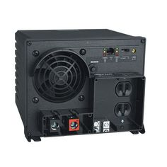 Tripp Lite PV1250FC Industrial Inverter 1250W 12V DC to AC 120V RJ45 5-15R 2 Outlet - Harness your vehicle's battery to efficiently power office equipment on the road or power tools at a work site. Continuously supplies up to 1250 watts of 120V AC po