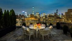 Million-dollar views for the bargain price of $100,000 a night. Picture: The Mark Hotel
