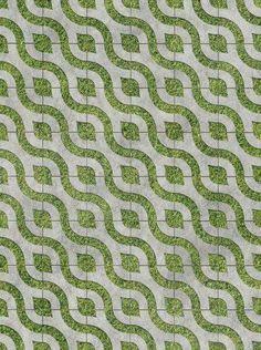 Creative permeable pavers