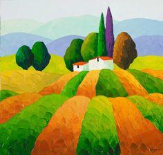Sveta Esser | Originals on Canvas | Meadow Run | Smart Publishing