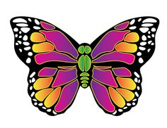 X Kites Butterfly MicroKite 4.7 Inches