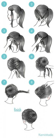 Great tutorial for a beautiful wedding hairstyle.