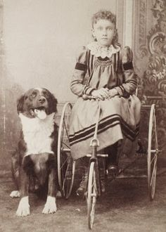 It's About Time: Photos of 19th-Century Children with Pets