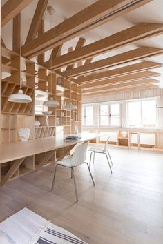 Architecture and design projects featuring plywood including furniture, interiors, pavilions, staircases and exhibitions about the laminated timber material. Plywood Interior, Arch Interior, Interior Decorating, Architecture Student, Interior Architecture, Wooden Workshops, Timber Structure, Wood Interiors, Design Firms
