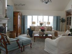 Gates of Crystal: Changes to our Family Room