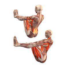 Half-boat pose - Ardha Navasana - Yoga Poses | YOGA.com Sports & Outdoors - Sports & Fitness - Yoga Equipment - Clothing - Women - Pants - yoga fitness - http://amzn.to/2k0et0A