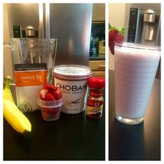New smoothie today!  *Strawberry-Banana* Blend 1 banana, 1c strawberries, 1/2c non-fat vanilla yogurt, 1/2c non-fat milk, 2tsp honey, pinch of cinnamon, 1c ice, & 1 THRIVE Ultra Micronized Premium Lifestyle Mix! You can cut this recipe in half for single serving. This was enough for 2 glasses, which is good for me since my husband and I both THRIVE.   www.FeelingAwesome.Le-Vel.com