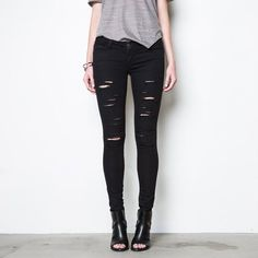Womens Ripped Jeans   DSTLD Luxury Jeans & Essentials   No Retail Markup