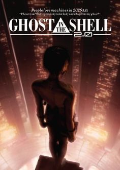 Directed by Mamoru Oshii. With Atsuko Tanaka, Akio Ôtsuka, Kôichi Yamadera, Tesshô Genda. A hacker known as the Puppet Master is hunted by a female cyborg cop and her partner. This film is a revised version of Ghost in the Shell Top Movies, Great Movies, Movies To Watch, Movies 2014, My Ghost, Ghost In The Shell, Mamoru Oshii, Manga Anime, Female Cyborg
