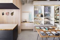 Lapuan Kankurit and their long-term distributor opened their first flagship store in Omotesando, Tokyo in the beginning of October SELECTED PRODUCTSMana and Takashi Kobayashi from Tokyo have designed the store, as well as the stores of Lapuan Brick Wall, Tokyo, Shops, Interiors, Table, Furniture, Design, Home Decor, Tents