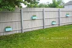 as a renter I'm not supposed to put up vines on my fence, so this is a good idea to add plants without the tangle
