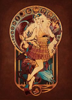 Luna from Harry Potter - Just As Sane As I Am Art Print by Megan Lara. BEAUTIFUL WORK FOR A BEAUTIFUL YOUNG WOMAN!!