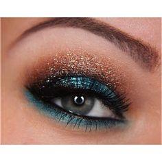 Cute makeup :)