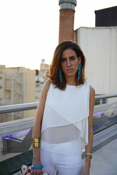 #totalwhite #look #style #outfit #iinwhite #whiteonwhite #claudinepons #madrid #circulo de bellas artes madrid #street style #outfit #thehighville